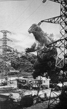 Godzilla and Power Plants... like a moth to flame.  #Godzilla