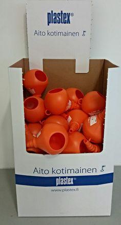 EKOsuppilon voit myös tilata kätevässä display-pakkauksessa. MADE IN FINLAND EKOsuppilon can also be ordered in a convenient display-packaging.