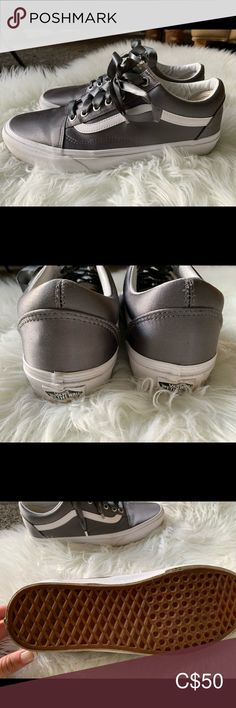 Shop Women's Vans Gray size 10 Shoes at a discounted price at Poshmark. Description: Brand new without tags. Never worn.