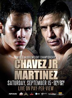 Julio Cesar Chavez Jr vs Sergio Martinez - September 15th on HBO PPV