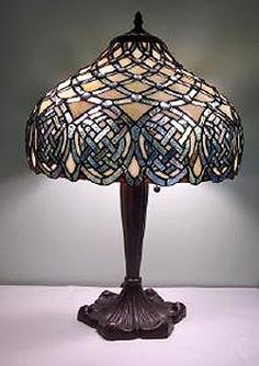 Large Celtic Lamp