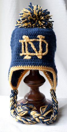 Notre Dame Fighting Irish Women/'s Gleam Cadet NCAA Military Ladies Cap Hat Lid