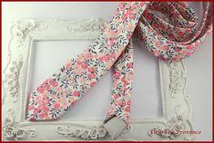Cravate Tissu Liberty Wiltshire pois de senteur - Homme