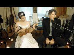 NEIL GAIMAN SINGING WHILE AMANDA PLAYS UKULELE. THIS. IS. AMAZING. http://violitionist.com/2012/05/amanda-palmer-and-neil-gaiman/ - Amanda Palmer and Neil Gaiman - May 2012 - Violitionist Sessions from Denton, Texas