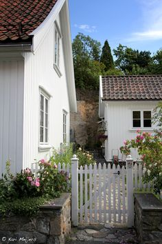 Drøbak city , Norway ~