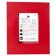 Porta Retrato Bold 10x15 Vermelho