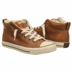 Converse Men's Chuck Taylor Leather Mid at Famous Footwear