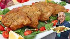 Hello Everybody! Today I am sharing with you my Pork Milanese recipe! I like to get a piece of pork loin and cut the pork loin cutlets to about an inch thick. Italian Soup, Italian Chef, Italian Dishes, Italian Recipes, Italian Foods, Italian Cooking, Pork Milanese, Pork Cutlets, Italian Cuisine