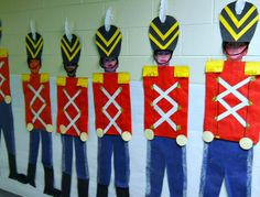 Kids as toy soldiers! SO CUTE!!!