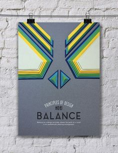 Colorful Paper Art Arrangements Cleverly Convey 10 Principles of Design
