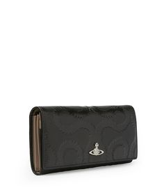 Black Squiggle Wallet 321299