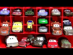 My collection toys×117 Disney Cars,Thomas,Chuggintton,Tomica,Toy Story for children - YouTube
