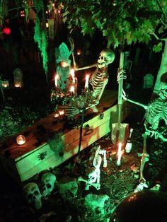 Yard display 2013. Halloween Home Haunt HalloweenDYI