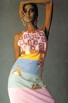 Donyale Luna by Guy Bourdin, 1966