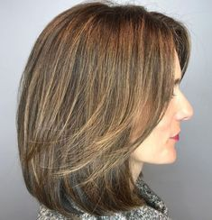 hair with bangs styles 80 sensational medium length haircuts for thick hair in 8014