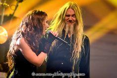 Delain 2015 - Charlotte and Marco Hietala!