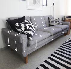 Reupholstering a sofa | Sohvan uudelleenverhoilu part 1