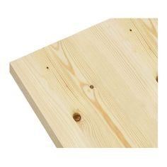 Blat drewniany 80 x 2,7 x 120 cm świerk