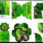 Kit de Hulk para imprimir gratis