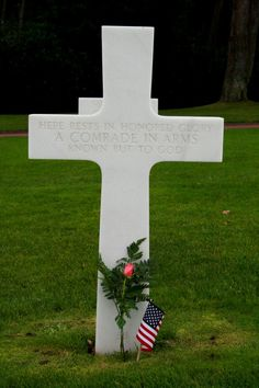 Omaha Beach Memorial Cemetery