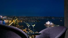An unreal view of the Sydney waterfront from the Shangri-La Hotel. #Sydney #Australia