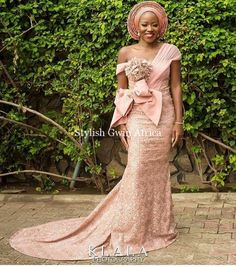 TOP Aso ebi Styles For Your Next Owamba. What are the latest Aso Ebi styles 2020 for ladies? African Lace, African Women, African Dress, African Wear, African Style, African Clothes, African Attire, Aso Ebi Lace Styles, Lace Gown Styles
