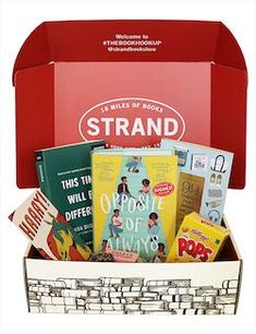 6 cool ways to support indie bookstores right now: Book subscription boxes from the Strand