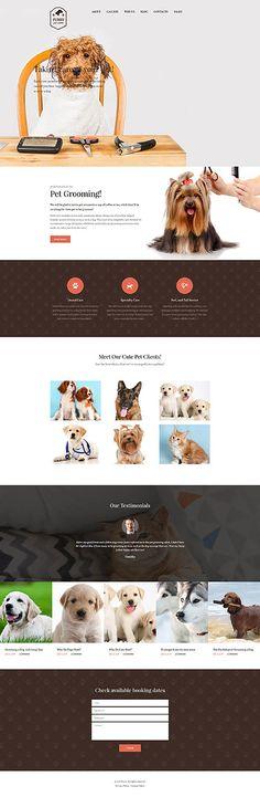 Template 62029 - Furry Pet  Responsive WordPress  Theme