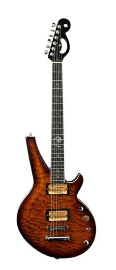 Borealis Guitar hot rodded by Cardas Audio