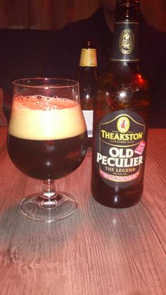Old Peculier an English beer.