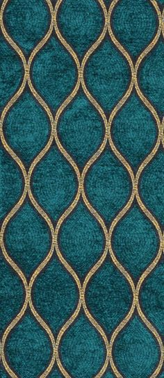Not green but very beautiful. Iman Malta Peacock Fabric dark teal and gold fabric Peacock Fabric, Gold Fabric, Peacock Pattern, Teal Upholstery Fabric, Turquoise Fabric, Chair Upholstery, Fabric Sofa, Chair Cushions, Teal Colors