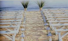 nice benches for wedding