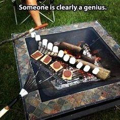 Become the S'MORE MASTER. | 25 Clever Tricks To Make Your Summer So Much Better