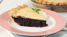 Old-Fashioned Blueberry Pie - Recipes - Best Recipes Ever - A recipe for
