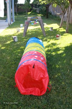 Train Up a Child: Outdoor Obstacle Course Playdate and Link Up