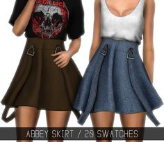 Sims 4 CC's - The Best: ABBEY SKIRT by simpliciaty-cc