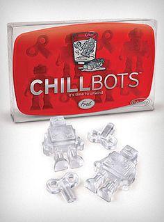Retro Robots Ice Cube Tray | PLASTICLAND
