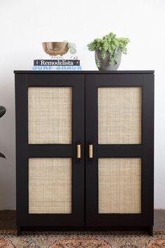 Ikea Eket, Ikea Bar, Ikea Ivar Cabinet, Ikea Cabinets, Entryway Cabinet, Cabinet Decor, Cabinet Furniture, Upcycled Home Decor, Diy Home Decor