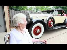 102-year-old woman still drives her 82-year-old car! Great article about  Margaret Dunning and her 1930 Packard 740 Roadster.