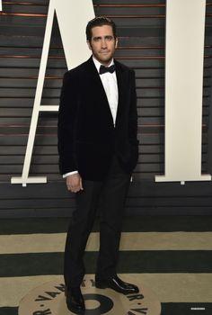 Jake Gyllenhaal, 2016, Vanity Fair Oscar Party - Arrivals
