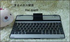 $49.99 Wireless Blue tooth Black Aluminium Keyboard for iPad