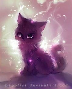 Apofiss Art | animal, apofiss, art, black cat, cat