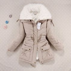 Winter Jacket Women Fashion Slim Cotton Coat Women's Thickness Overcoat Medium-long Plus Size Casual Wadded Snow Outwear