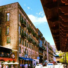 The Savannah Riverfront area (River Street) is a popular spot for dining, shopping and nightlife!