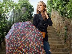 Vzorovaný odlehčený mini deštník - Značkové deštníky Fiber, Mini, Design, Design Comics