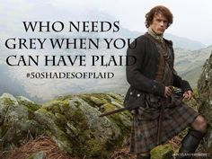 That's for sure!!!! #50ShadesofPlaid
