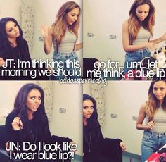 Hahahah Jade's face at the end. :'')