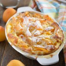 Découvrez la recette du Clafoutis aux abricots, Dessert à réaliser facilement à la maison pour 1 personnes avec tous les ingrédients nécessaires et les différentes étapes de préparation. Régalez-vous sur Recettes.net