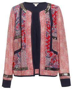 Monsoon mixed floral jacket