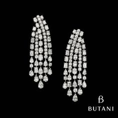 Butani Jewellery #Diamonds #WhiteDiamonds #YellowDiamonds #Earrings…